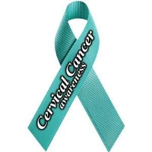 Cervical Cancer Awareness Ribbon Magnet Automotive