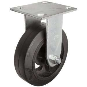 EZ Roll EZ 0620 MOR R 6 Diameter Rubber/Steel Wheel Medium Heavy Duty