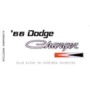 1966 DODGE CHARGER Owners Manual User Guide Automotive