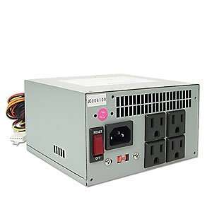Clever Power 400W 20 pin Silent ATX PSU w/Surge Protector