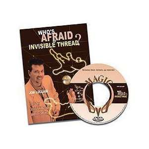 Whos Afraid of Invisible Thread   Magic Trick DVD Toys