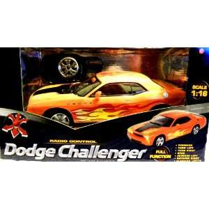 RC Dodge Challenger Full Function 116 Scale Toys & Games