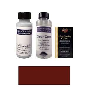 Dark Red Paint Bottle Kit for 1973 Mercedes Benz All Models (DB 542