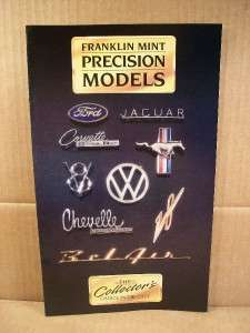 Franklin Mint Precision Models Catalog