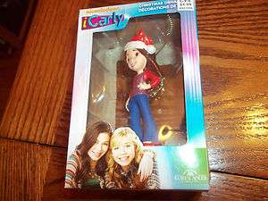 2011 Kurt Adler Nickelodeon Christmas Ornament I Carly Figure NIB