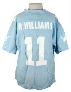 DETROIT LIONS ROY WILLIAMS WOMENS NFL JERSEY SKY BLUE S