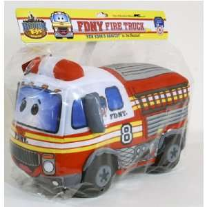 Bronx Toys FDNY Fire Truck Plush Toy Toys & Games