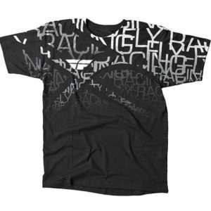 Fly Racing Wire T Shirt   Medium/Black Automotive