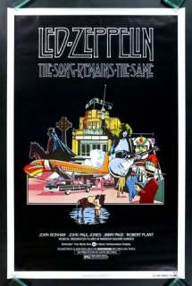 LED ZEPPELIN *THE SONG REMAINS THE SAME * MOVIE POSTER