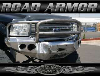 05 07 Ford Super Duty F250/F350 Road Armor Front Bumper