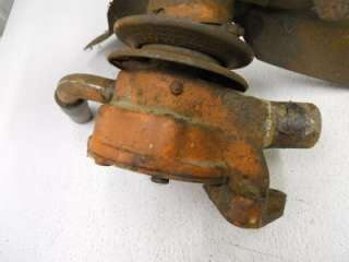 ALLIS CHALMERS WD WATER PUMP ASSEMBLY USED