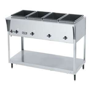 Servewell Sl Hot Food Table, 4 Well, S/S 300 Series