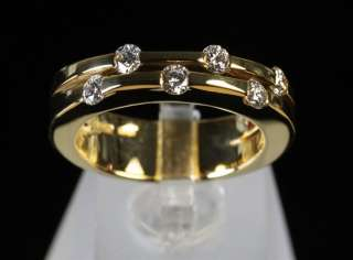 Mappin & Webb Roberto Coin Classica Parisienne 18k Yellow Gold Diamond