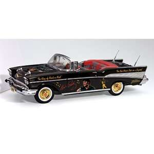Elvis 57 Chevy Bel Air Convertable Die Cast 124