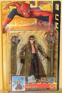 Gallery for Spider Man 2 Doc Ock with 4 Bendy Tentacles Action Figure