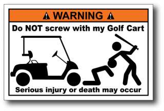 Screw Funny Warning Decal Sticker Car Graphics Club Team Hard