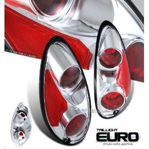 ) CHRYSLER PT CRUISER RED CLEAR ALTEZZA TAIL LIGHTS LAMPS Automotive