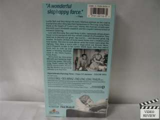 The Long, Long Trailer VHS NEW Lucille Ball, Desi Arnaz