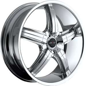 Driv D Bomb 18x7.5 Chrome Wheel / Rim 5x100 & 5x4.5 with a 40mm Offset