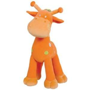 Tuc Tuc Orange Giraffe Soft Stuffed Plush Baby Toy (27.5 tall