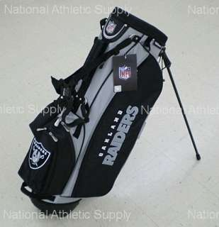 Oakland Raiders NFL Carry / Stand Golf Bag New 883813404872
