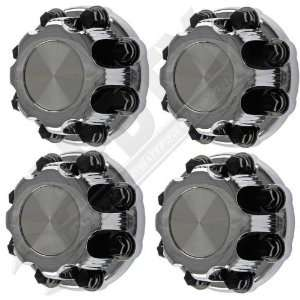Chevy Silverado 8 Lug Wheel Center Cap/Lug Nut Cover Chrome Set Of 4