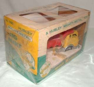 1960s HUBLEY DIE CAST 8 BIG MIKE DUMP TRUCK MINT MIB