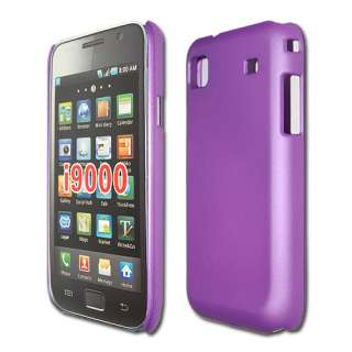 Rubber Hard Back Case Cover Samsung i9000 Galaxy S