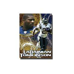 LaDainian Tomlinson #21 San Diego Chargers NFL Woven Tapestry Throw