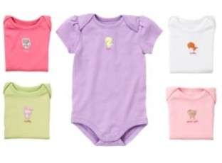 NWT Gymboree BRAND NEW BABY Boys Girls Unisex Bodysuit SET 5 Pack