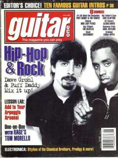 One Magazine (June 1998) Dave Grohl / Puff Daddy / Tom Morello