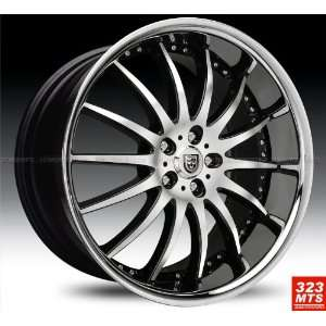 com Lexani Lx14 20x10 Range Rover Wheels Rims Black Machine & Chrome