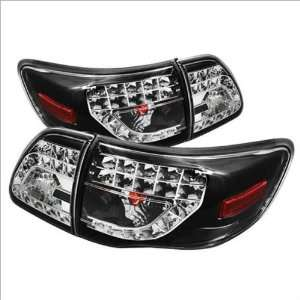 Spyder LED Euro / Altezza Tail Lights 09 11 Toyota Corolla