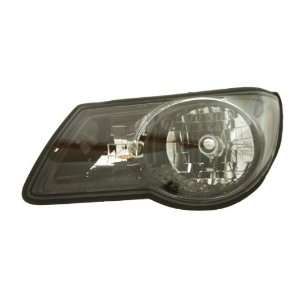 OE Replacement Pontiac Aztek Driver Side Headlight Assembly Composite