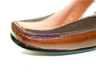 ALDO Mens Italian Style Brown Dress/Casual Loafers