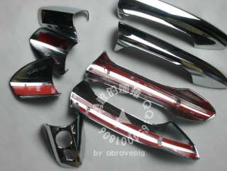 Mercedes Benz GLK GLK350 CHROME DOOR HANDLE COVERS TRIM