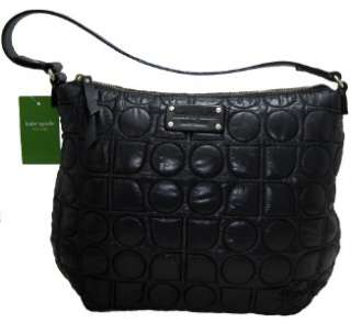 kate spade new york medium joisan chamonix black quilted shoulder bag