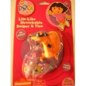 Dora the Explorer Stretchable Swiper & Tico ~ Squishy