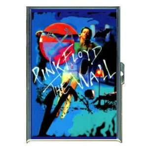 PINK FLOYD THE WALL BLUE ID Holder, Cigarette Case or Wallet MADE IN