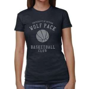 Nevada Wolf Pack Ladies Club Juniors Tri Blend T Shirt