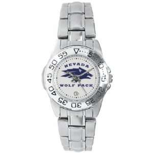 Nevada Wolf Pack Suntime Sport Steel Ladies NCAA Watch
