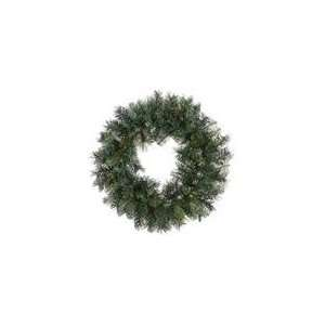 24 Mixed Sugen Pine Artificial Christmas Wreath   Unlit
