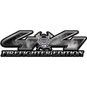 Firefighter Edition Fire Gray 4x4 Truck & SUV Decals Automotive