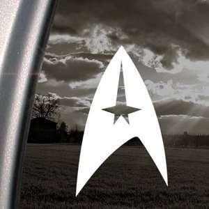 STAR TREK COMMAND Logo Decal Truck Window Sticker