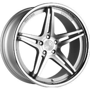 Series Staggered Wheels Rims Machine Silver LIP 4pc 1set Automotive