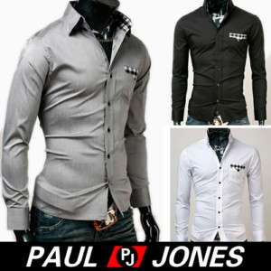 Handsome Mens Fashion Cotton Casual Button Casual Shirts Collection
