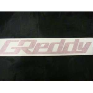 Greddy Racing Decal Sticker (New) Red X 2