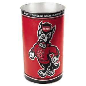 North Carolina State Wolf Pack NCAA Tapered Wastebasket