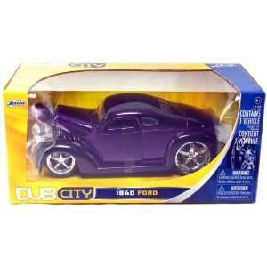 1940 Ford Coupe 1/24 Scale DUB City from Jada (Purple) Toys & Games