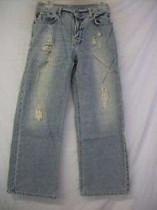 New Boys ABERCROMBIE Destructed Colden Jeans 16 NWT